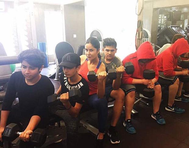 Katrina Kaif's new gym partners