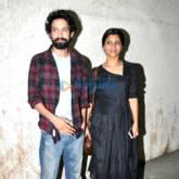 Konkana Sen Sharma, Kalki Koechlin and Aditi Rao Hydari snapped at the screening of 'A Death In The Gunj'