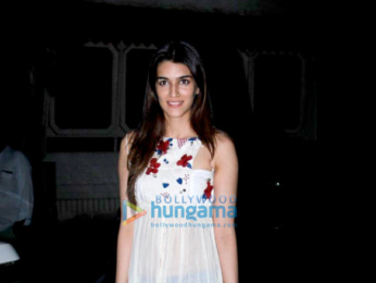 Kriti Sanon snapped at 'BR Films' office