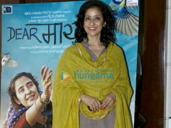 Manisha Koirala and Imtiaz Ali promote Dear Maya