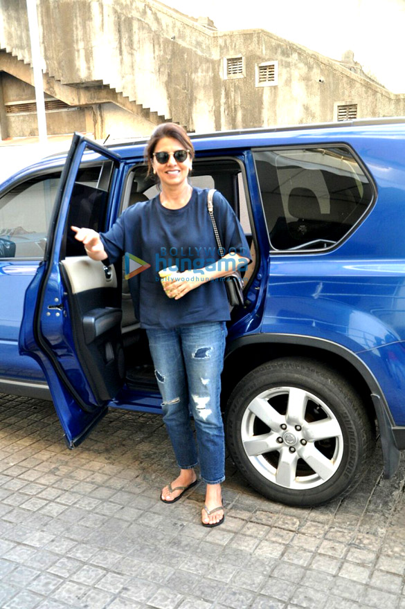 Neetu Kapoor snapped at PVR (Juhu)