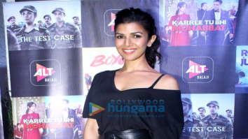 Nimrat Kaur at the screening of 'The Test Case'-