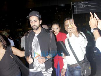 Parineeti Chopra, Ayushmann Khurrana and Anil Kapoor snapped at the airport