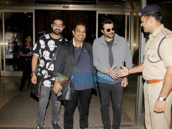 Airport,Parineeti Chopra, Ayushmann Khurrana and Anil Kapoor snapped at the airport