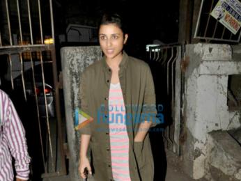 Parineeti Chopra snapped post a salon session in Juhu