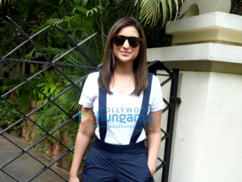 Parineeti Chopra snapped post salon session in Bandra