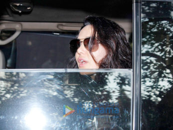 Preity Zinta snapped post dubbing in Bandra