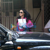 Preity Zinta snapped post dubbing in Bandra