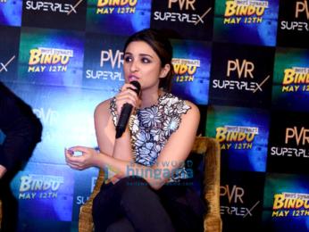 Promotions of the film 'Meri Pyaari Bindu' in Delhi
