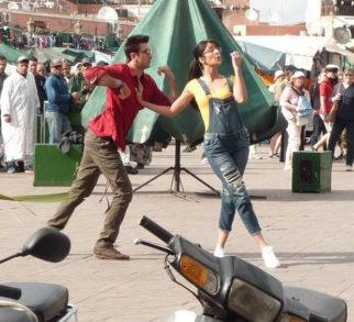 Ranbir Kapoor and Katrina Kaif look goofy in a new still from Jagga Jasoos features
