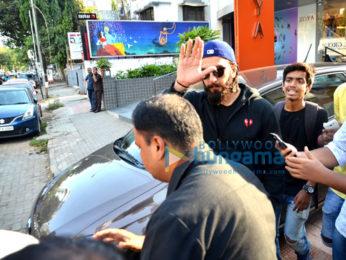 Ranveer Singh snapped at Akro gym