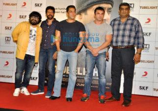 Salman Khan and Sohail Khan at the trailer launch of Tubelight