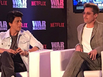 Shah Rukh Khan & Brad Pitt At Premiere Of War Machine In Mumbai videos