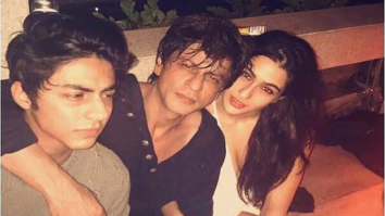 Shah Rukh Khan is a cool dad as he hangs out with son Aryan Khan and Saif Ali Khan's daughter Sara Ali Khan -1