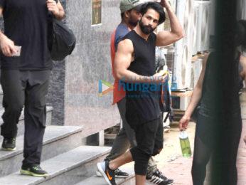 Shahid Kapoor snapped in Bandra