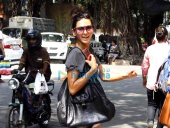 Shibani Dandekar snapped at Pali Hill