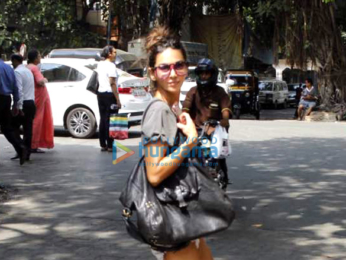 Shibani Dandekar snapped at Pali Hill
