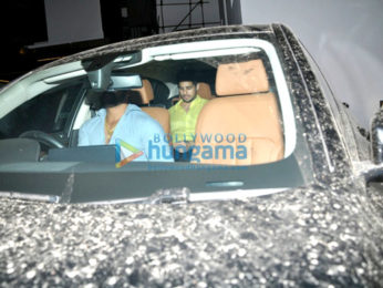 Sidharth Malhotra and Alia Bhatt snapped post dinner at Imran Khan's house