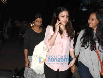 Soha Ali Khan and Konkona Sen Sharma snapped in Bandra