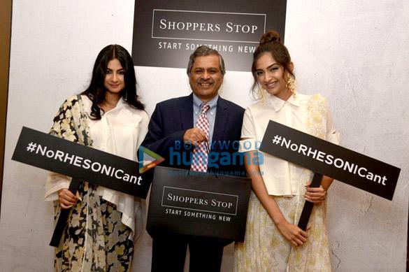 Sonam Kapoor and Rhea Kapoor at the media meet of Rheson