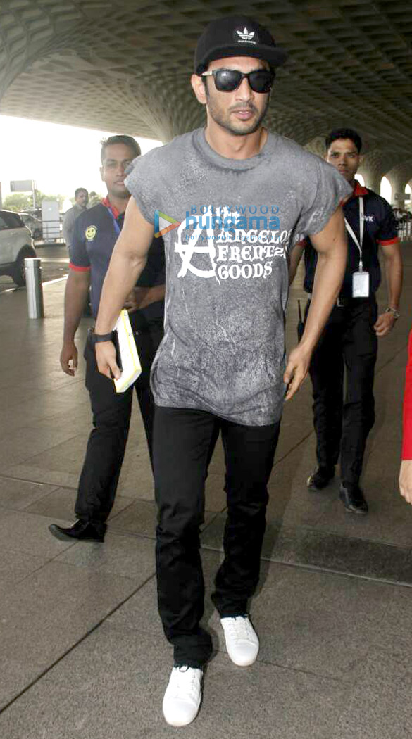Image result for sushant singh rajput airport look