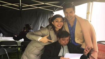 This video of Jacqueline Fernandez bonding with David Dhawan is cute. Don't miss it!