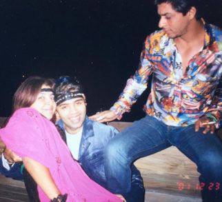 Throwback Tuesday This old picture of Shah Rukh Khan, Karan Johar and Farah Khan in retro themed costumes will give you friendship goals