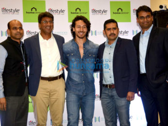 Tiger Shroff at the inauguration of Lifestyle store in seawoods