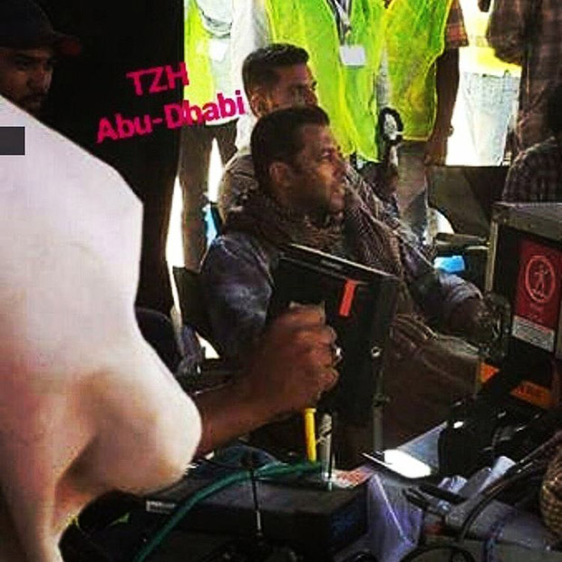 Tiger Zinda Hai Salman Khan and Angad Bedi begin second schedule shoot in picturesque locales of Abu Dhabi-2