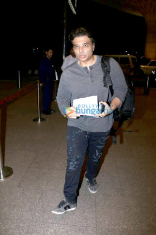 Uday Chopra and Nargis Fakhri snapped at the airport