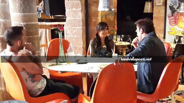 Unseen Photos Katrina Kaif and Ranbir Kapoor are all smiles on Jagga Jasoos set1