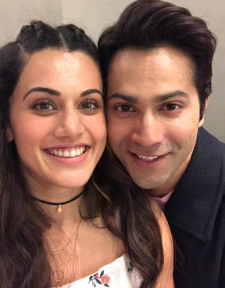 Varun Dhawan has sweet messages for his leading ladies Taapsee Pannu and Jacqueline Fernandez after London schedule wrap up on Judwaa 2-1