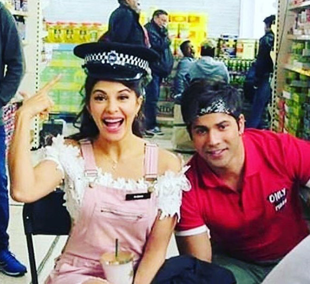 Varun Dhawan has sweet messages for his leading ladies Taapsee Pannu and Jacqueline Fernandez after London schedule wrap up on Judwaa 2-2