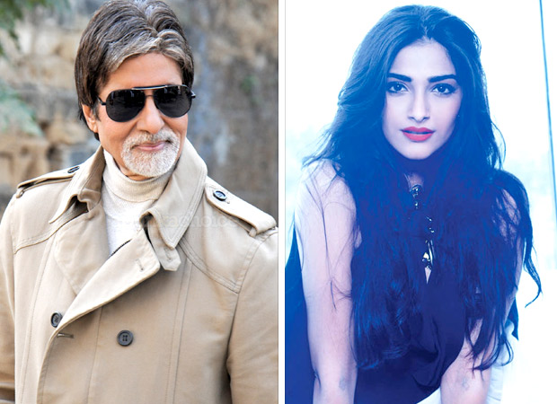 """You didn't reply to message"", Amitabh Bachchan pokes Sonam Kapoor for not responding to his birthday wishes"