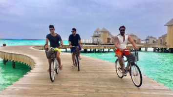 Ajay Devgn and Kajol on a much deserved vacation with their family in Maldives