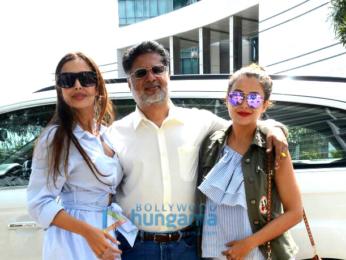 Arbaaz Khan, Malaika Arora, Amrita Arora, Shakeel Ladak and family snapped post their lunch In Bandra
