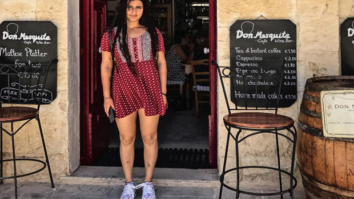 Behind the Scenes Fatima Sana Shaikh is living the Malta life while filming Thugs of Hindostan-1
