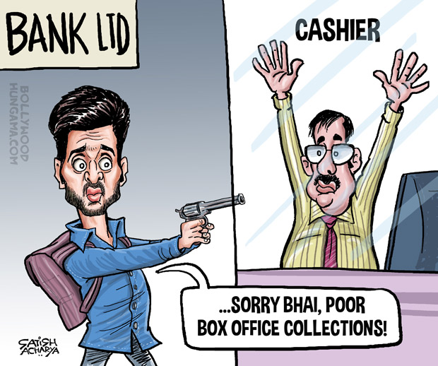 Bollywood Toons Bank Chor fails to loot the box office!