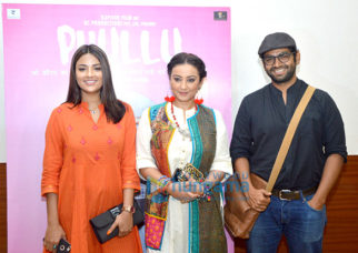 Celebs at the press meet of Phullu