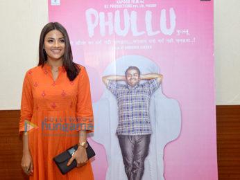 Celebs at the press meet of Phullu