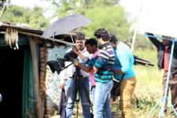 On The Sets Of The Movie Duniya Khatam Ho Rahi Hai