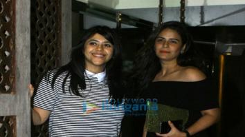 Ekta Kapoor's birthday bash at Bastian with close friends and family