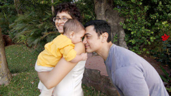 Father's Day special Aamir Khan and Kiran Rao share a cute moment with their son Azad in this throwback photo