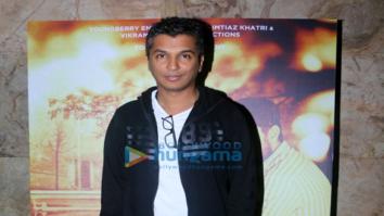 First screening of Vikram Phadnis' Marathi movie 'Hrudayantar'