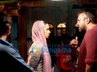 On The Sets Of Haseena Parkar