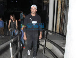 Hrithik Roshan, Sussanne Roshan and their kids arrive for the screening of 'Wonder Woman' at PVR Juhu