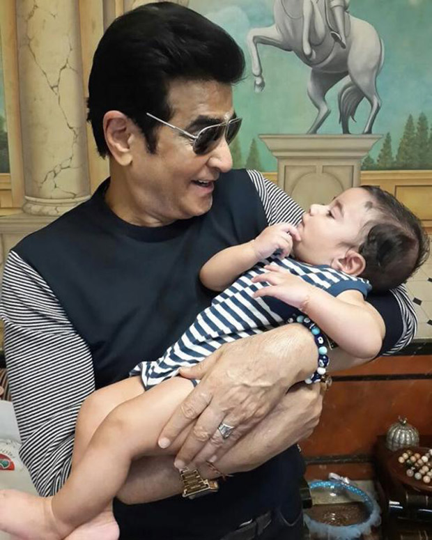 """""""I am reliving my craving for parenting through my grandson,"""" Jeetendra on his grandson who turns 1 today"""