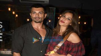 Karan Singh Grover and Bipasha Basu snapped post their dinner at I Think Café