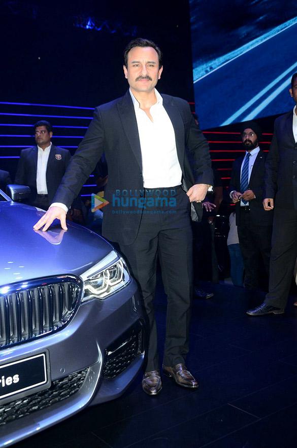 Saif Ali Khan, Esha Gupta, Neha Dhupia & Malaika Arora Khan grace the launch of the new BMW 5 Series