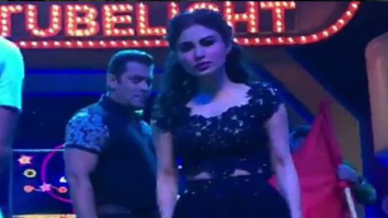 Mouni Roy accidentally crashes into Salman Khan during a performance rehearsal! Watch now